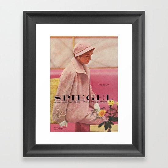 1954 Spring/Summer Catalog Cover Framed Art Print