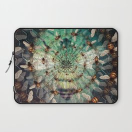 Bees: Masters of Time and Space Laptop Sleeve