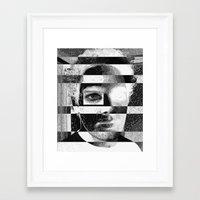 jon contino Framed Art Prints featuring Jon 234 by Jose Luis