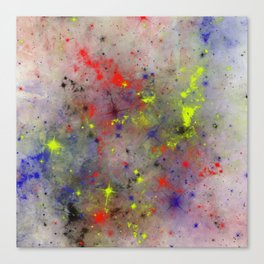 Primary Space Canvas Print