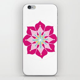 Merrymaking Mandala iPhone Skin
