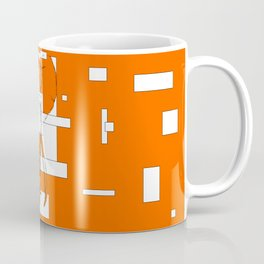 Orange is the New Elephant Coffee Mug