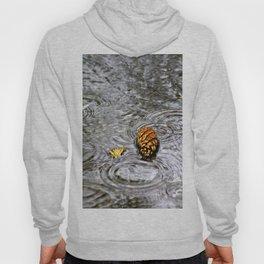 Golden Pine Cone Hoody