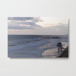 Morning Beach Metal Print