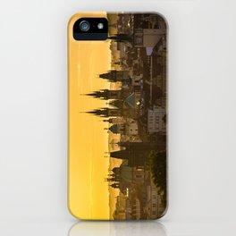 Prague Dawn iPhone Case