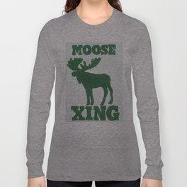 Moose Xing Long Sleeve T-shirt