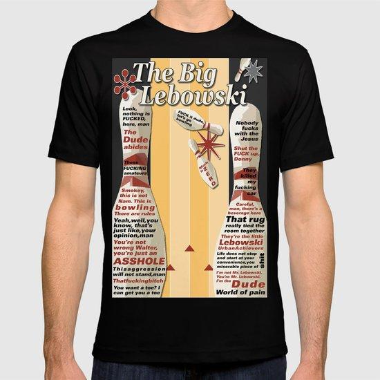 Lebowski movie quotes T-shirt