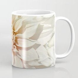 Dahlia white macro 043 Coffee Mug