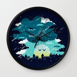 Stars and Constellations Wall Clock