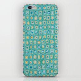 Yellow Blue iPhone Skin