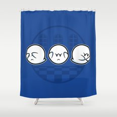 Boo No Evil Shower Curtain