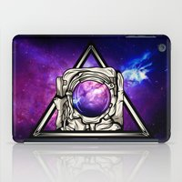 astronaut iPad Cases featuring Astronaut by Pancho the Macho
