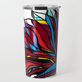 Native American Head-dress Travel Mug