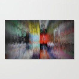 Distorted Fronts Canvas Print