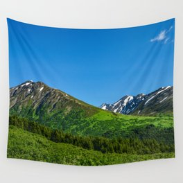 Alaskan Summer Greens - 1 Wall Tapestry