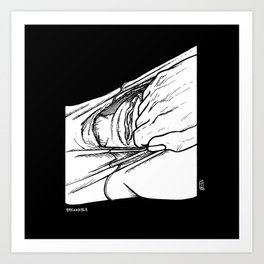 InklATER: Breakable Art Print