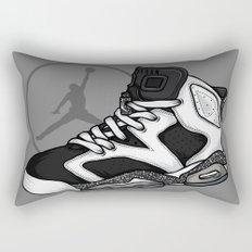 Jordan 6 (Oreo) Rectangular Pillow