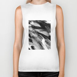 Abstract Artwork Greyscale #1 Biker Tank