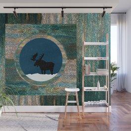 Moose Dreamtime Wall Mural