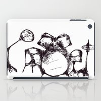 drums iPad Cases featuring Drums by Jake Stanton