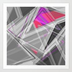 ∆Pink Art Print