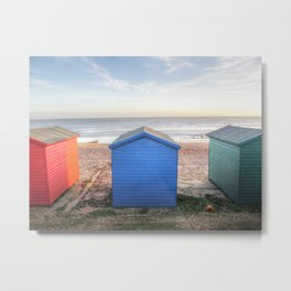 Little huts of color Metal Print