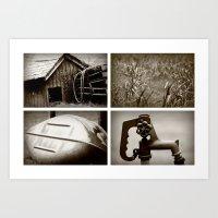 Rural Life Series Art Print