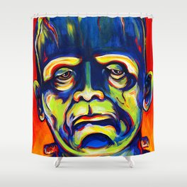 Call Me Frank Shower Curtain