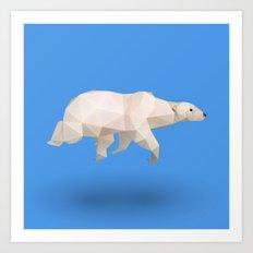 Polar Bear. Art Print