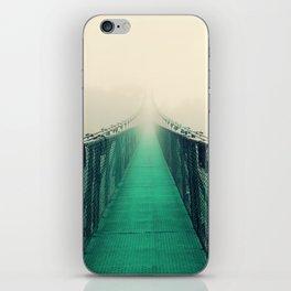 suspension bridge iPhone Skin