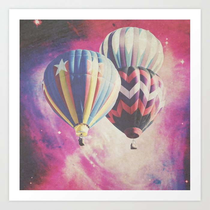 Exploring the Great Unknown Art Print