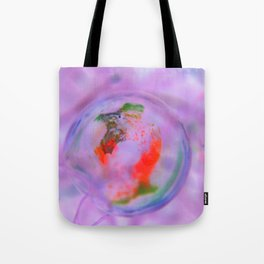 Fluid Nature - Abstract Bubble Tote Bag