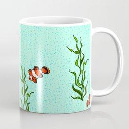 Swimming Clowns Coffee Mug