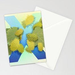 Xanthium Strumarium Stationery Cards