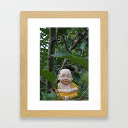 In Trees Framed Art Print