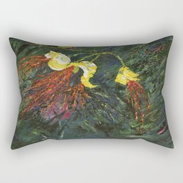 Mexican Bird of Paradise Rectangular Pillow