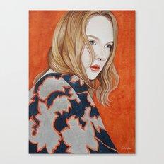 Close Up 19 Canvas Print