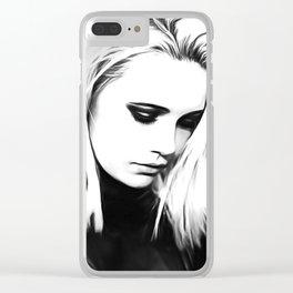 Bea Miller - Celebrity Art Clear iPhone Case