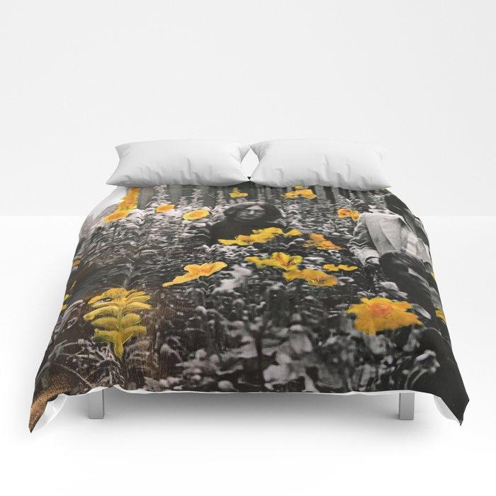 Flowerbed Comforters