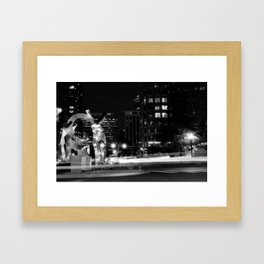 Cupid's Garden Framed Art Print