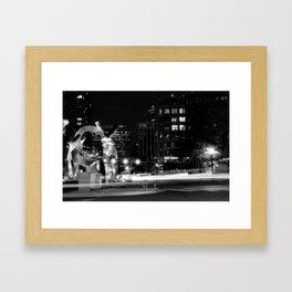 Cupid's Garden Framed Art Print