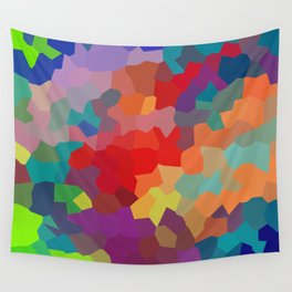 Vibrant Colors Wall Tapestry