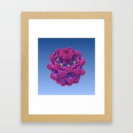 Jelly Flower Framed Art Print