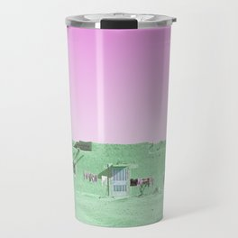 Moroccan Dar in Green Travel Mug