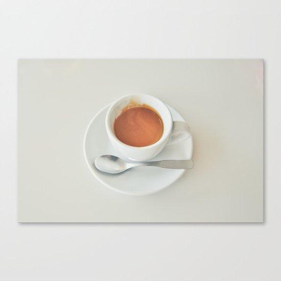 Espresso Demitasse Canvas Print