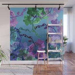 Orchid garden Wall Mural