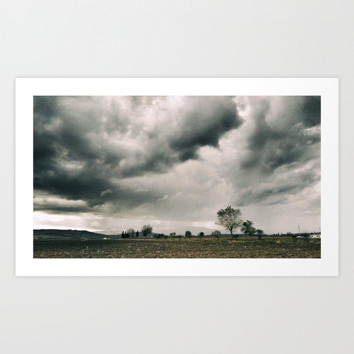 The land of the Monti Dauni Art Print