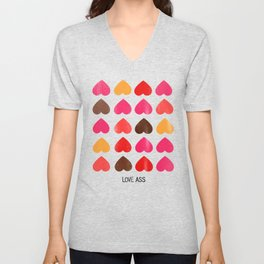 LOVE ASS Unisex V-Neck
