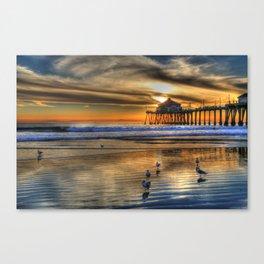 Huntington Beach California  Canvas Print