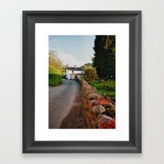 A Country Lane Framed Art Print